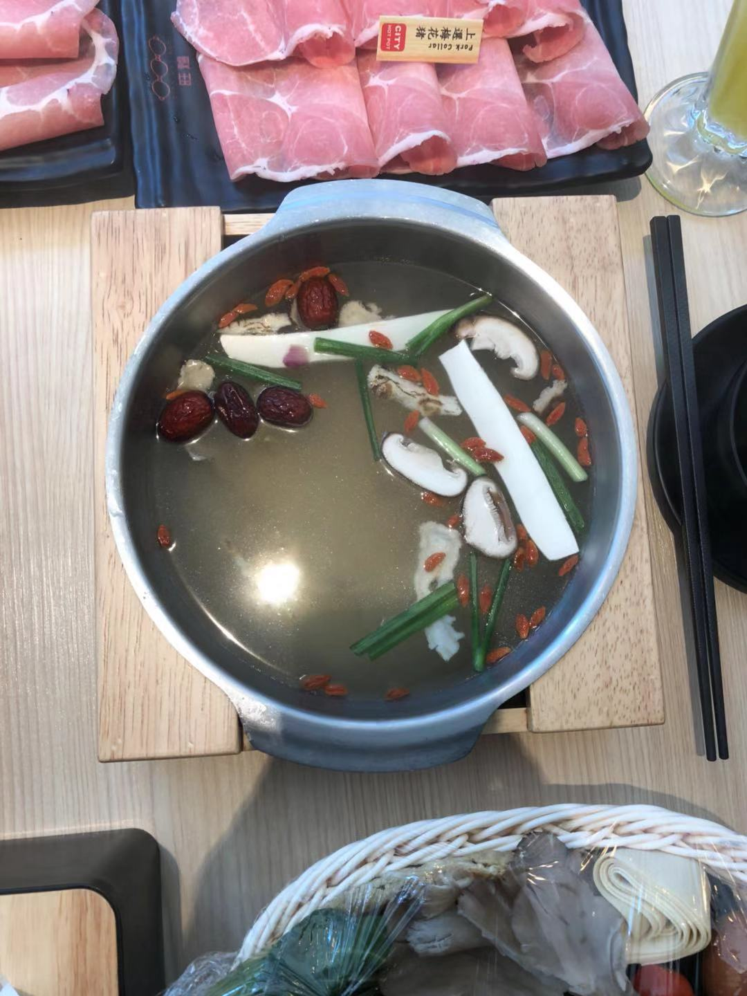 Chinese-herbal-chicken-soup-for-hotpot