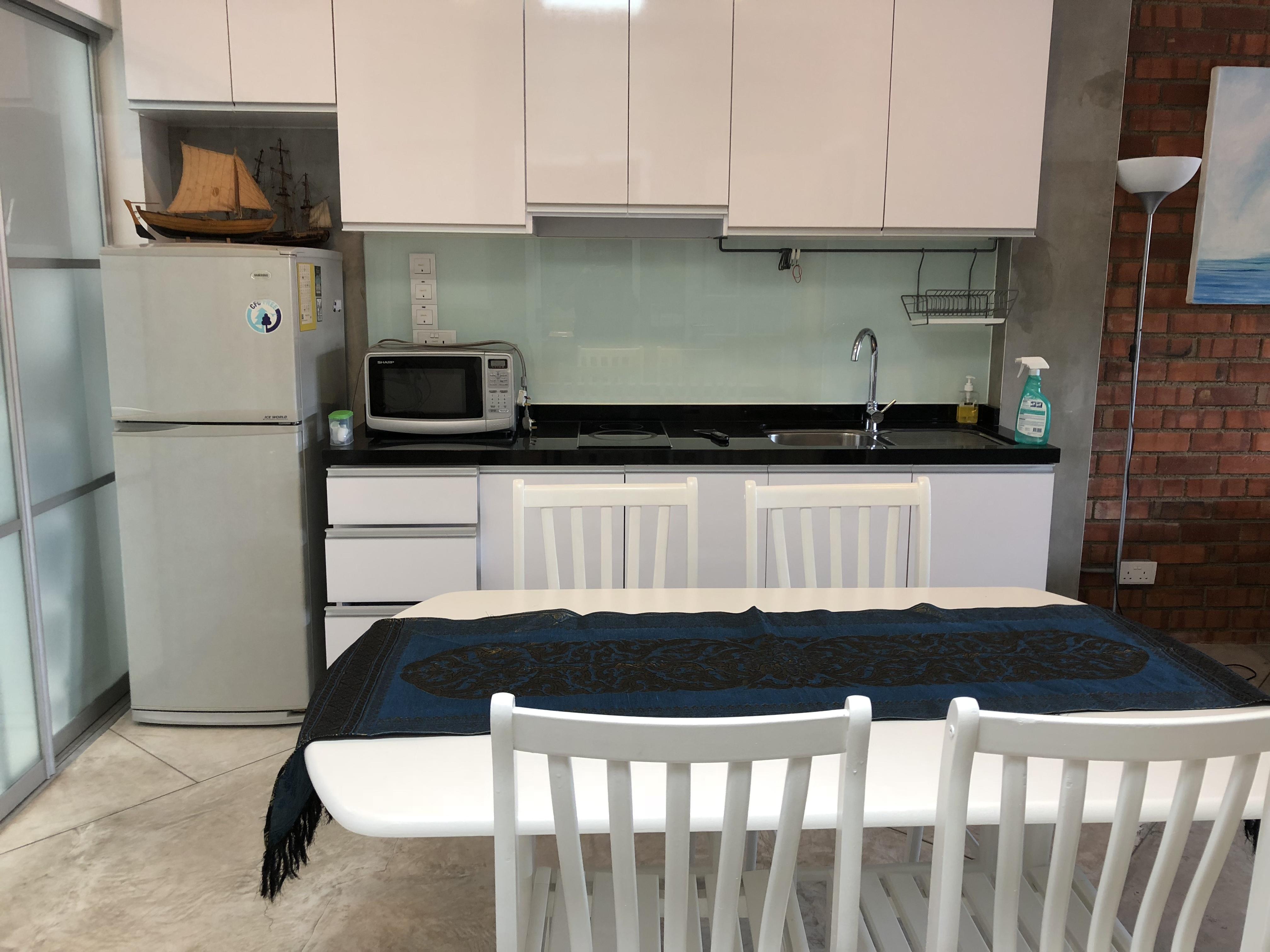汤姆森上段房屋,干净的厨房