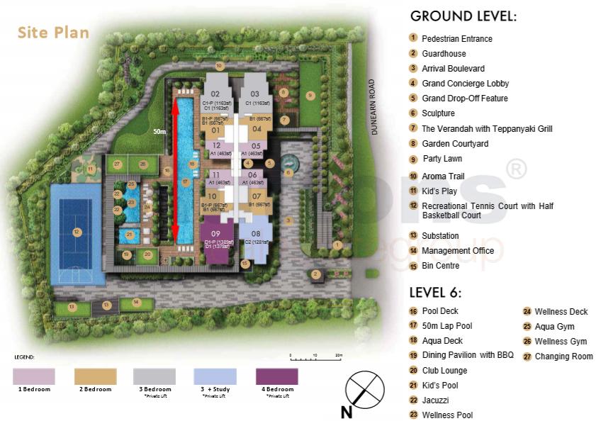 Pullman Residences Newton 新加坡公寓
