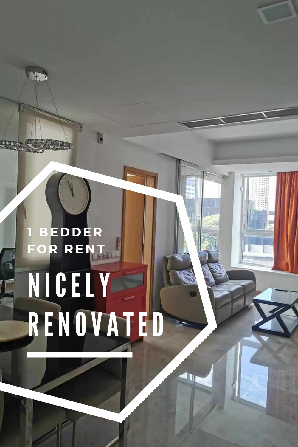 tribeca 1 bedder for rent