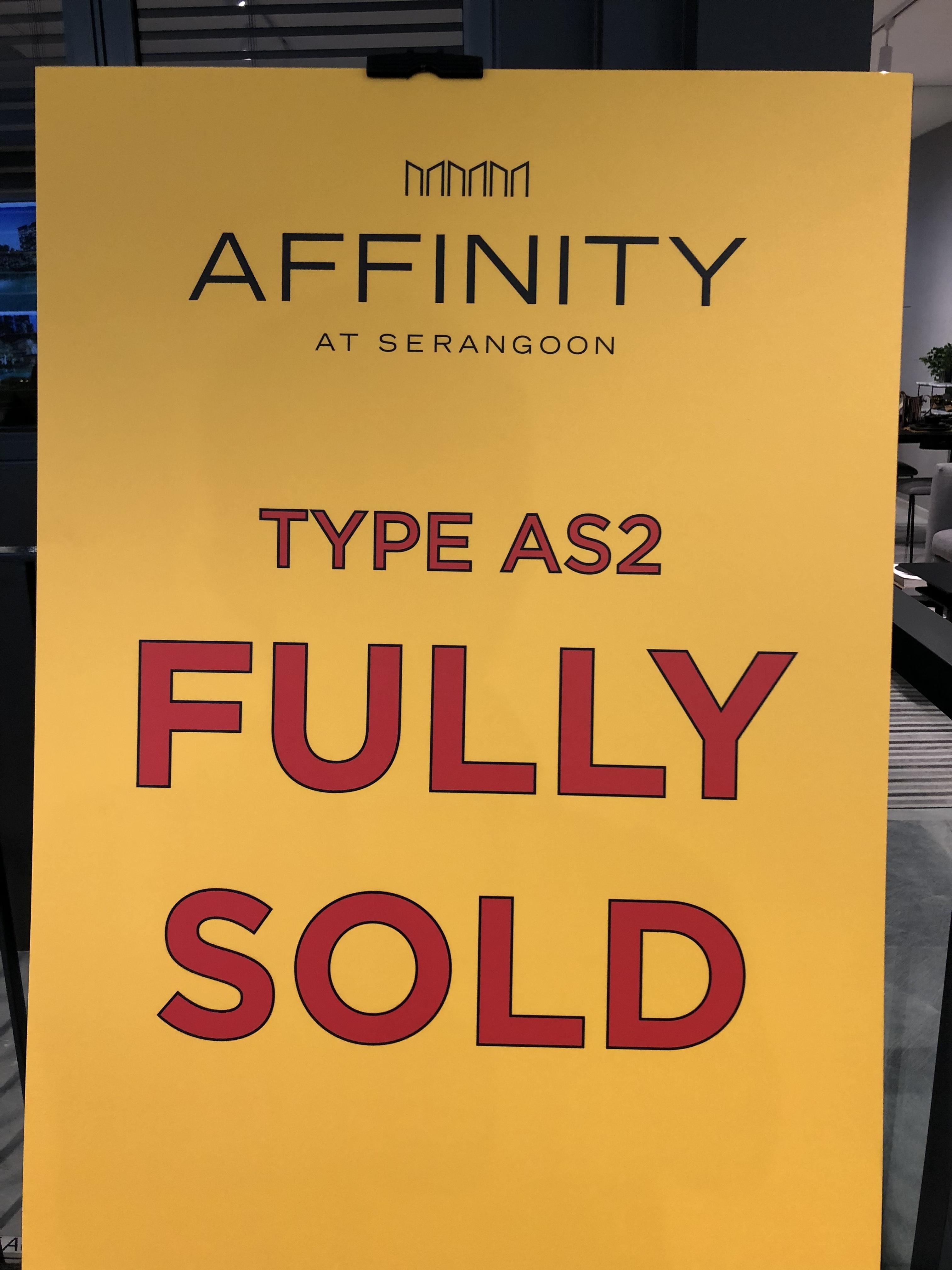 Affinity at Serangoon 新楼盘销售信息更新
