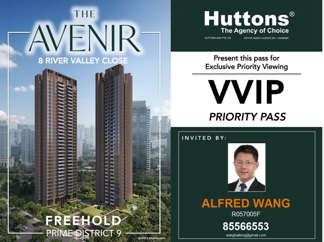 EDM-The Avenir show flat invitation card