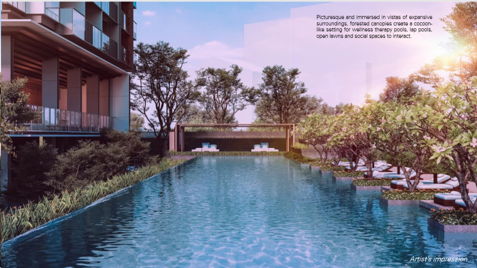 Leedon Green swimming pool