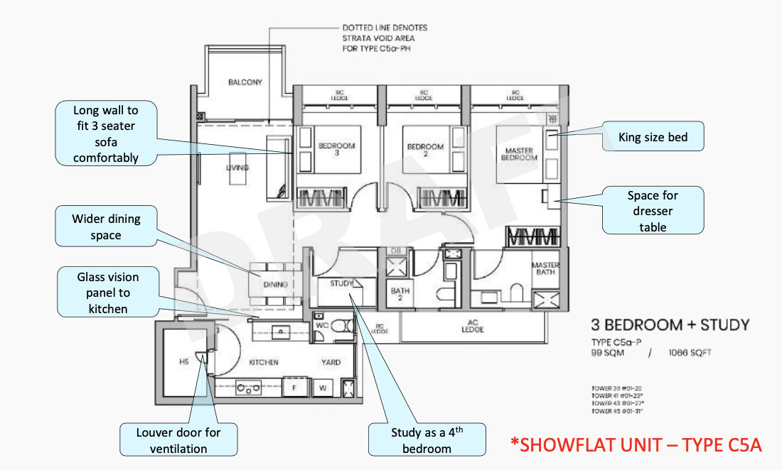 Parc-Greenwich-Showflat-Type-3-Bedroom-Type-C5A